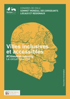 Villes inclusives et accessibles