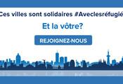 Ces villes sont solidarite #Aveclesrefugies