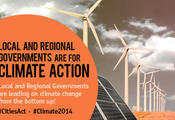 Mayors for Climate Action! #Climate2014​
