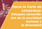 Cities Are Listening - Hacia la Carta de Lampedusa