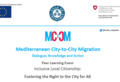 MC2CM Mediterranean City to City Migration Peer Learning Event