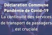 CGLU rejoint l'appel mondial sur l'importance d'assurer la continuité du transports publics pendant y au-delà de la crise