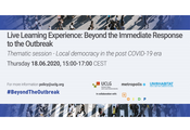Local Democracy in the aftermath of the COVID-19 Pandemic
