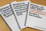 Now also in Spanish! All training modules are published for the localization of the SDGs