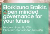 Etorkizuna Eraikiz. Open minded governance for future