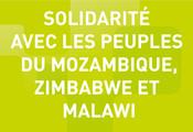 CGLU exprime ses condoléances aux peuples du Mozambique, Zimbabwe et Malawi