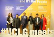 Première réunion du groupe consultatif CGLU-UBUNTU pendant le Séminaire de CGLU