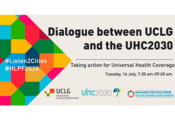 UCLG and UHC2030 join forces to transform the conversation on Universal Health Care at the 2020 High-Level Political Forum