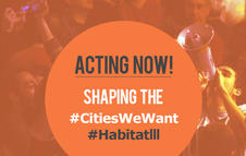 Acting Now. Shaping the #CitiesWeWant
