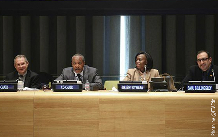 The #post2015 development agenda adopted by the intergovernmental negotiating