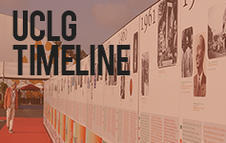UCLG Timeline- discover all our milestones