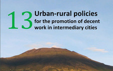 Urban-rural policies for the promotion of decent work in intermediary cities