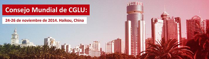 Consejo Mundial de CGLU - Haikou
