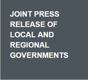 Joint press release of local and regional governments