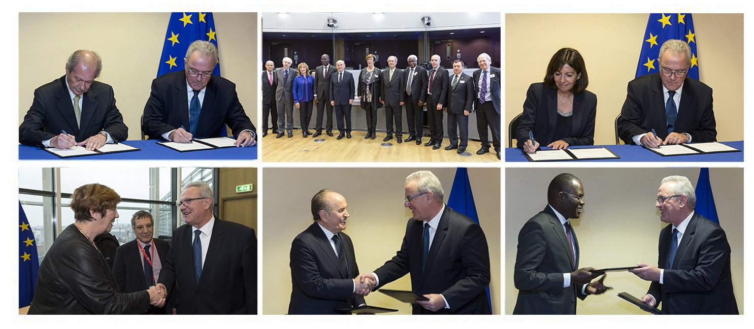 Strategic Partnership with the European Union, signing ceremony